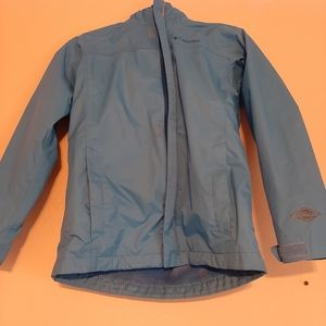 Columbia watertight rain jacket- girls medium